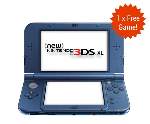 New Nintendo 3DS XL - Metallic Blue for Nintendo 3DS