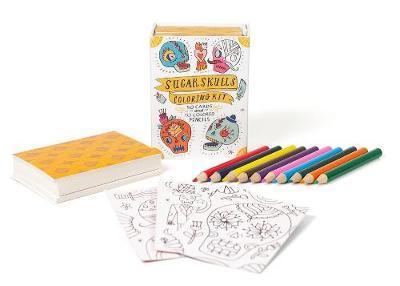 Sugar Skulls Colouring Kit