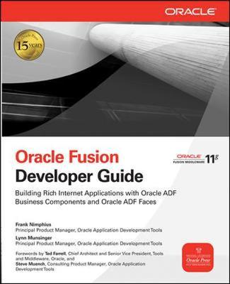Oracle Fusion Developer Guide by Frank Nimphius image