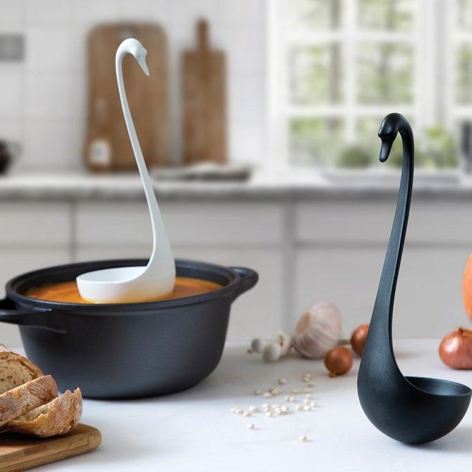 Swanky Floating Ladle (Black) image