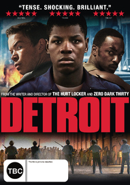 Detroit on DVD image