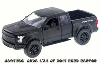 Jada 1/24 Just Trucks 2017 Ford Raptor (Black) - Diecast Model