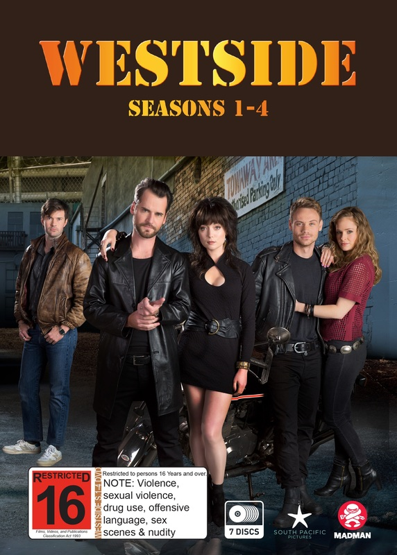 Westside Series 1-4 Boxset on DVD