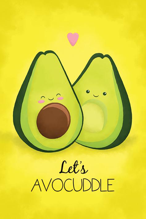 Avocado Maxi Poster - Let's Avocuddle (924)