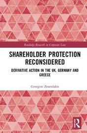 Shareholder Protection Reconsidered by Georgios Zouridakis