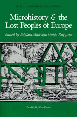 Microhistory and the Lost Peoples of Europe image