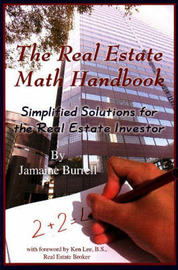 Real Estate Math Handbook by Jamaine Burrell
