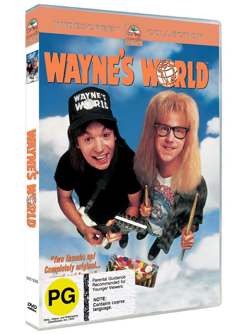 Wayne's World on DVD image