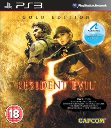 Resident Evil 5 Gold Edition (PS Move Compatible) for PS3