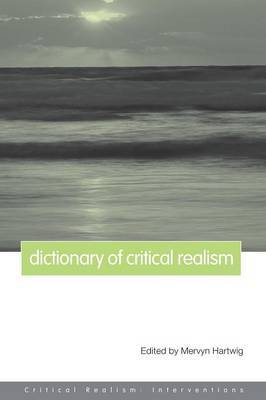 Dictionary of Critical Realism image