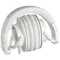 Audio-Technica ATH-M50X Studio Monitors Headphones - White