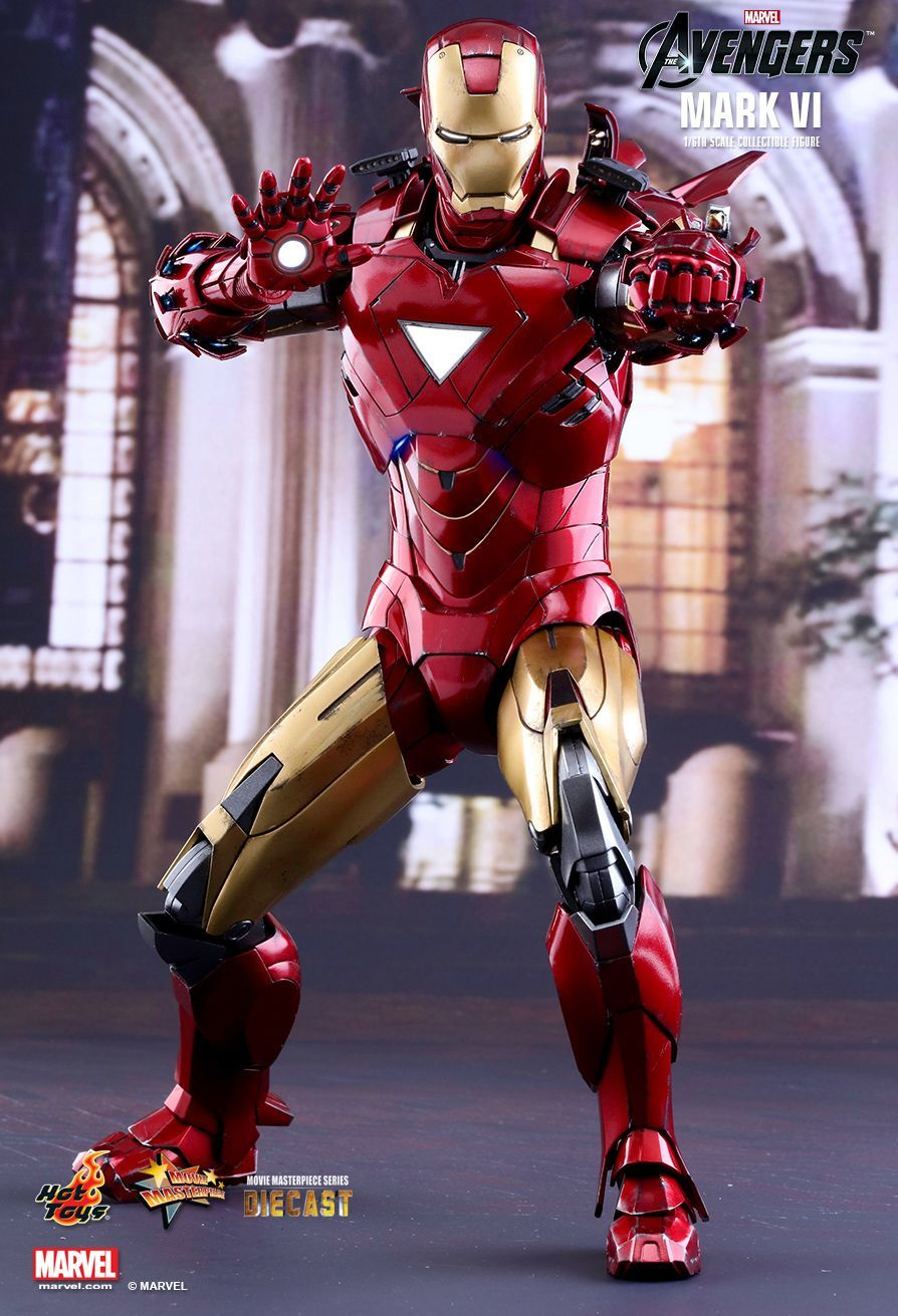 Avengers: Iron Man Mark VI - 1:6 Scale Diecast Figure image