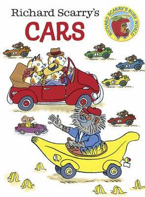 Richard Scarry's Cars Board Book by Richard Scarry