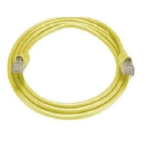 8Ware: RJ45M Cat5E Network Cable- 1m (Yellow)