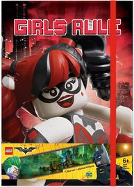 The LEGO Batman Movie: Themed Hardback Journal - Girls Rule
