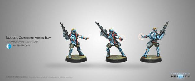 Infinity: Locust, Clandestine Action Team (Hacker)