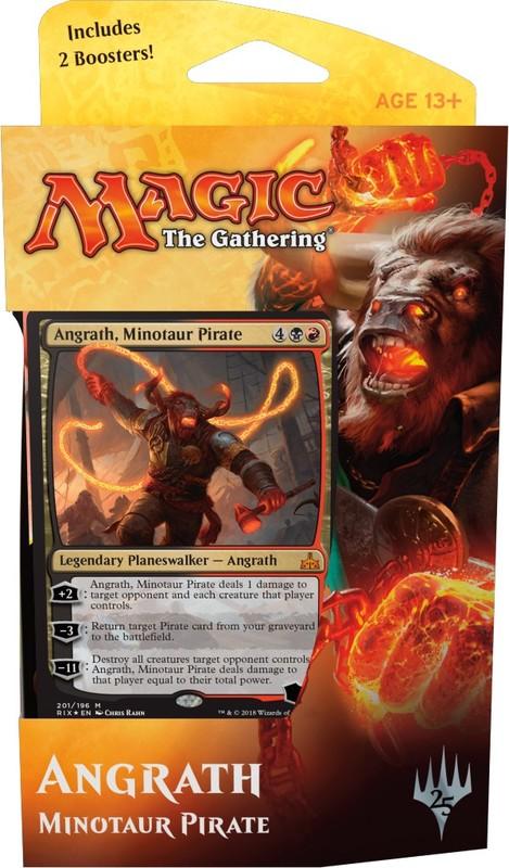 Magic The Gathering Planeswalker Deck: Angrath, Minotaur Pirate