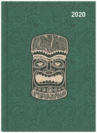 Collins: 2020 Daily A51 Diary - Maori Toanga (Green) image
