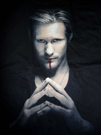 True Blood: Eric Northman Portrait T-Shirt - XLarge