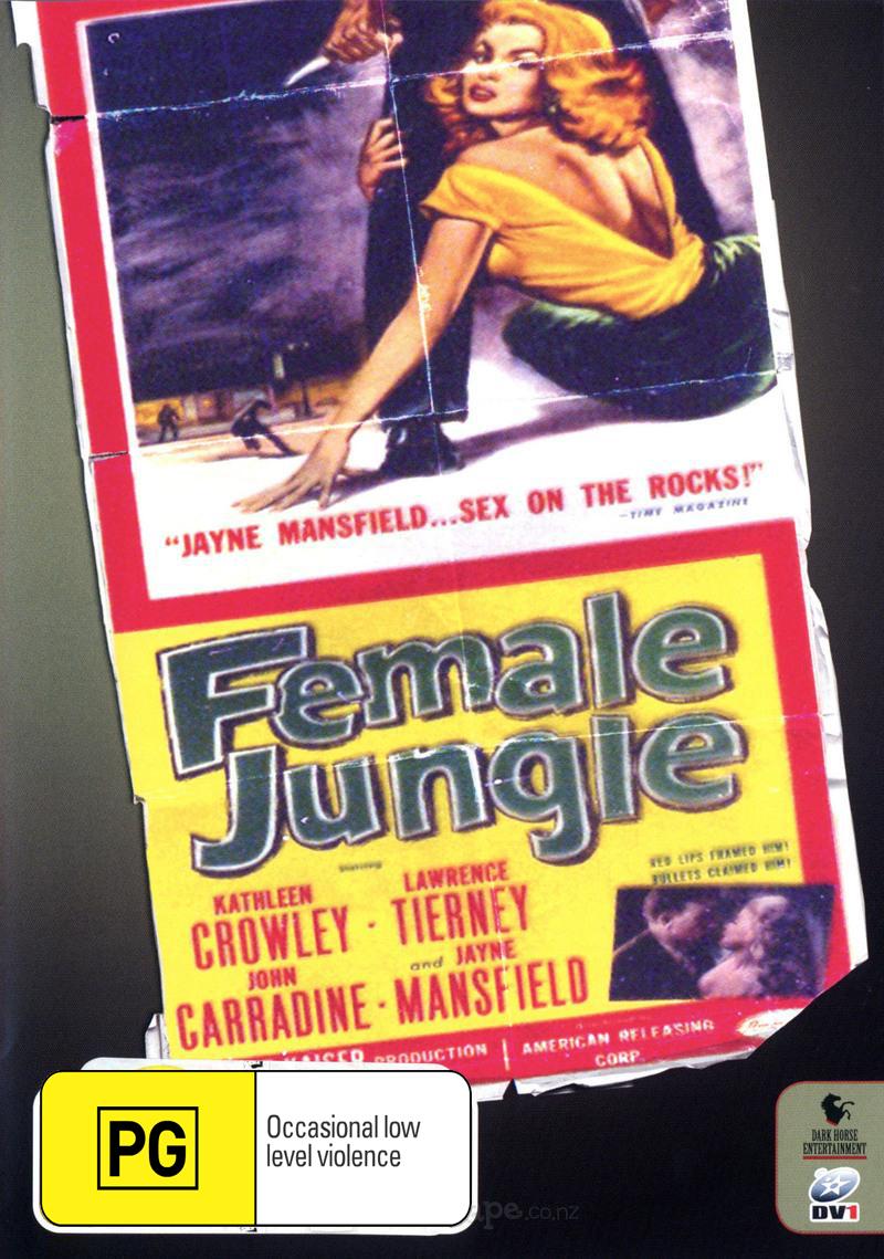 Female Jungle on DVD image