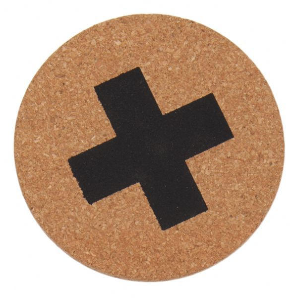 General Eclectic Cork Coasters