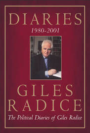 Diaries 1980-2001 by Giles Radice image
