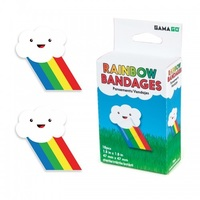 Gama-Go: Rainbow Bandages (18pc)