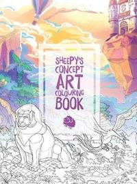 MrSuicideSheep's Concept Art Colouring Book by Sheepy