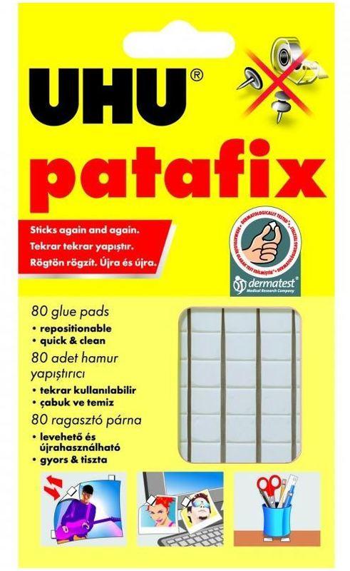 UHU: White Tac 80's