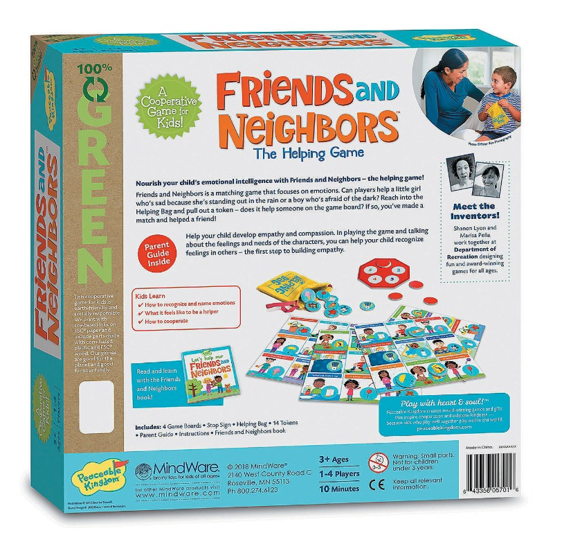 Friends & Neighbours - Cooperative Game image