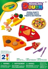 Crayola: Dough Activity Set - Pizza Party