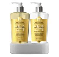 M&Y Hand Wash & Body Caddy - Cinnamon & Rooibus (2x500ml)