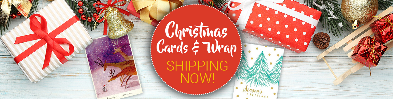 Christmas Cards & Wrapping Paper!