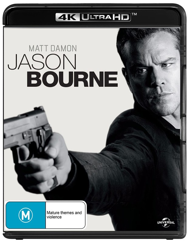 Jason Bourne on Blu-ray, UHD Blu-ray