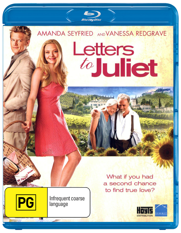 Letters to Juliet on Blu-ray