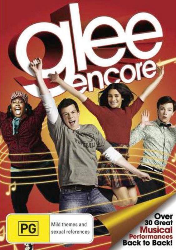 Glee - Encore DVD
