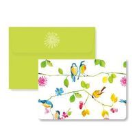 Watercolor Birds Note Cards (14 Cards/Envelopes) image
