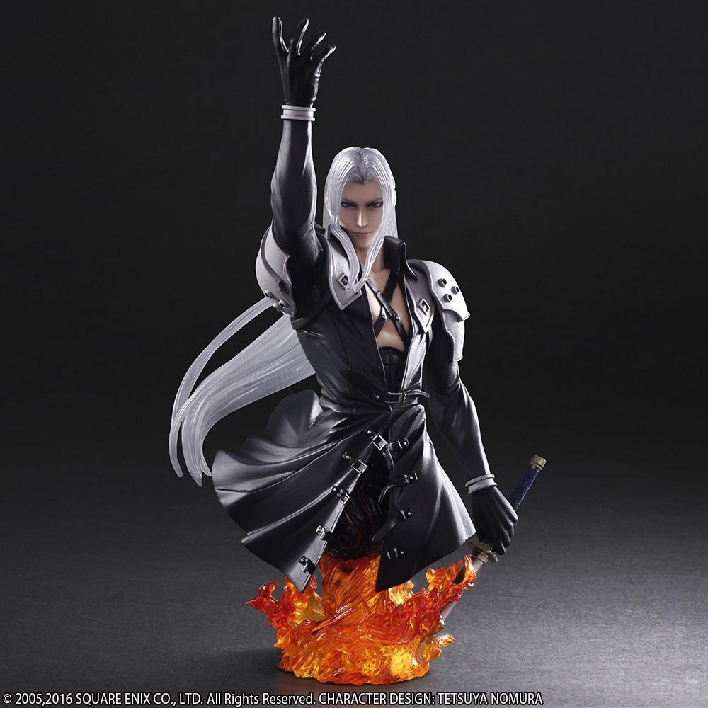 Static Arts Final Fantasy VII Sephiroth Bust image