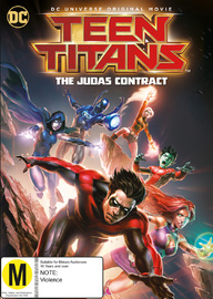 Teen Titans: The Judas Contract DVD
