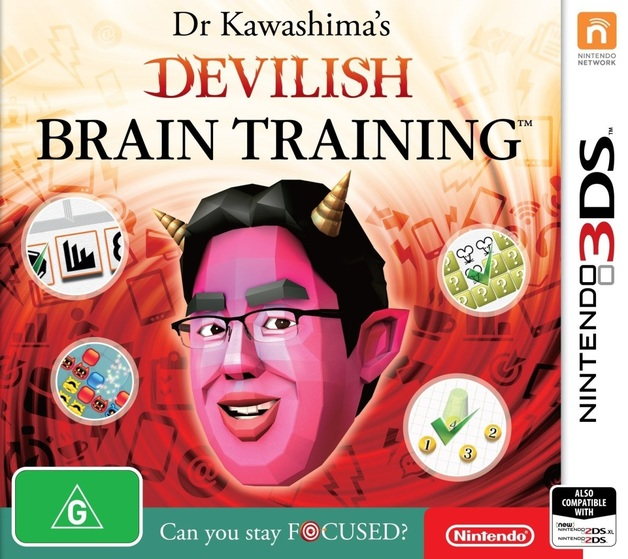 Dr. Kawashima's Devilish Brain Training: Can you stay focused? for 3DS