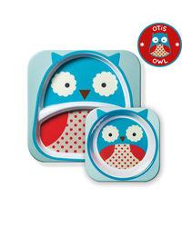 Skip Hop: Zoo Melamine Set - Owl