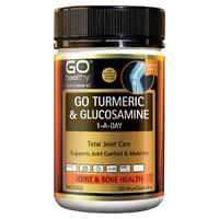 GO Healthy: GO Turmeric + Glucosamine 1-A-Day VegeCapsules (120s)