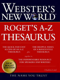 Webster's New World Roget's A-Z Thesaurus by Charlton Laird image