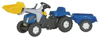 Rolly Kid - New Holland T7040 with Trailer and Front Loader