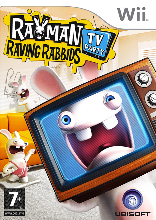 Rayman Raving Rabbids: TV Party for Wii