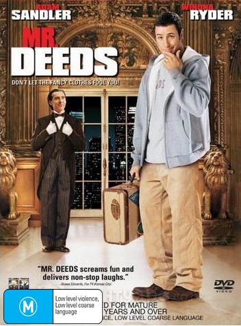 Mr Deeds on DVD image