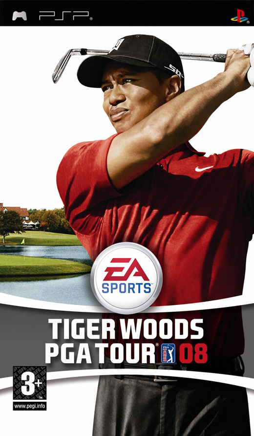 Tiger Woods PGA Tour 08 for PSP image