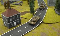 Flames of War: Modern Roads - Terrain Set image