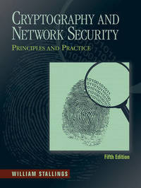 Cryptography and Network Security: Principles and Practice by William Stallings image