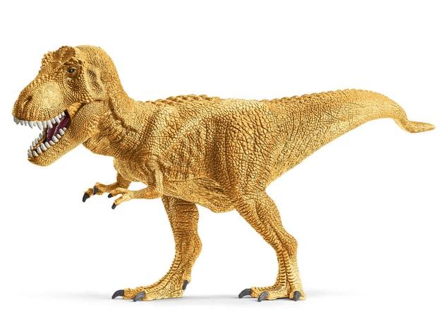 Schleich: Golden T-rex